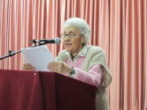 photo of Basman at book launching